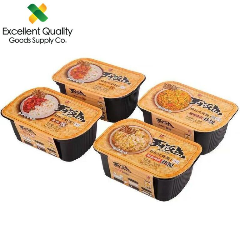 ?????? EQGS Instant 15 minutes No Cook Self Heating Rice Bowl Meal Zi Shan 300g Beef Chicken Pork Flavor