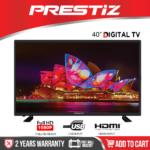 """Prestiz 40IA5BD 40"""" Full HD Digital LED TV With Wall Bracket"""