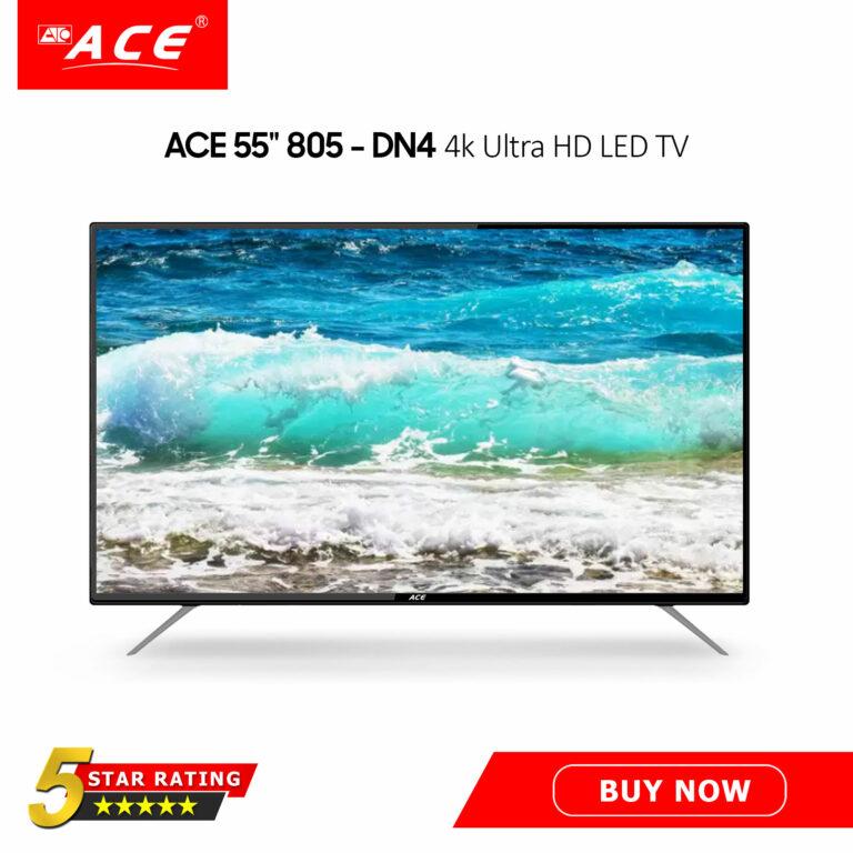 "ACE 55"" LED TV DN4 - 805 4k Ultra HD"