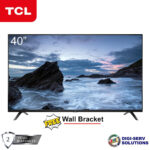 """TCL 40"""" LED FHD TV with A+ Grade HD Ready Panel (LED40D3000D)"""