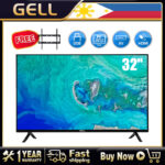 ?Free Bracket?GELL 32inches Not Smart TV flat tv LED TV flatscreen tv on sale Multiport HDMI AV USB