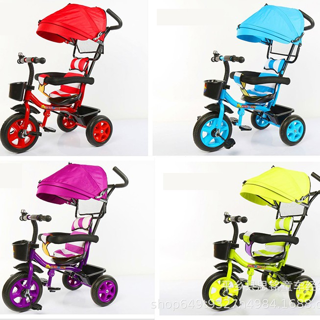 Giant Stroller 4 IN 1 kids children's tricycle baby shading stroller baby bicycle bike for kids