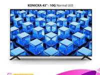 Konicka 43 10G - HD LED TV Frameless Flat screen LED TV