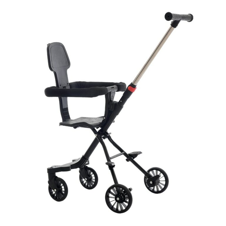 Goodbaby Stroller 4-wheel folding baby stroller with cushion Fordable Baby Stroller Lightweight Two-way Trolley
