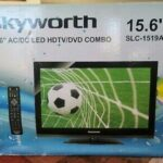 """Skyworth 15.6"""" ACDC LED HDTV/DVD COMBO SLC-1521A-3S *S6 Great for Truck Drivers"""