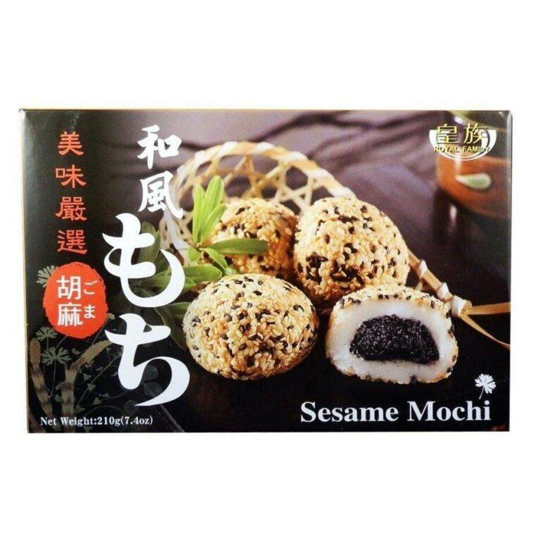Royal Family Japanese Sesami Mochi Sweet 6pcs