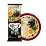 Nissin Demae Iccho Bar Noodls Black Garlic Oil Tonkotsu Flavour 181g