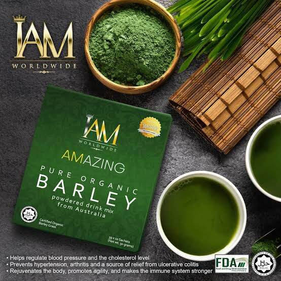 I Am Worldwide Barley