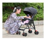 Baby 1St Stroller Baby stroller is ultra-light portable can sit and lie down foldable simple push umbrell