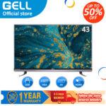 ?LED TV) GELL 43 inch flat on sale screen tv Full HD  ultra-slim Flat-screen GELL43A