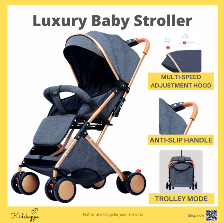 Kidshoppe Luxury Edition 6609 Baby Stroller 0-36 months with Dual-use Cotton Pad