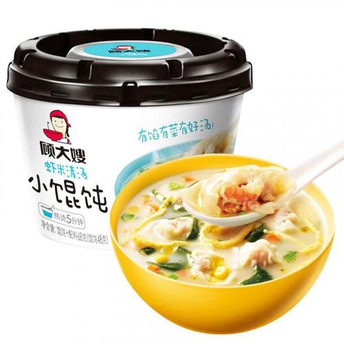 [China Recommend]Madam Gu Shrimp Stock Wonton Noodles 68g