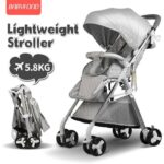 Light Weight Travel Baby Stroller Portable Can Sit and Lying Folding Baby High Landscape Stroller