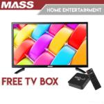 "MASS 40"" LED TV with Free TV Box"