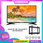 "Konicka 42"" 43A - LED TV DN4 with BRACKET"