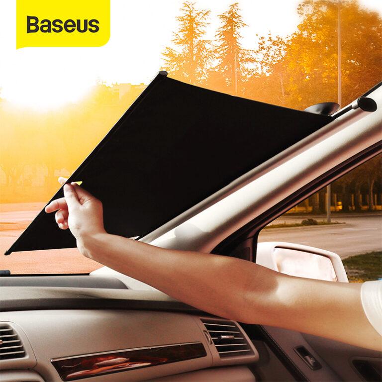 Baseus Car Sunshade Automatic sunshade Curtain Car Auto Front Window Foldable Windshield Sun Shade