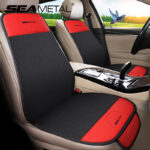 Four Seasons Universal Car Seat Cover Breathable Backless Anti-slip Seat Cushion Protector