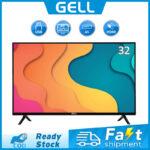 ?32inch TV flat screen on sale?GELL 32 INCH LED TV sale Ultra-slim Multi-ports HDMI AV  USB