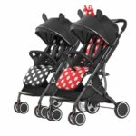 2021 Twin stroller ultra-light and foldable newborn carts double pram detachable second baby stroller