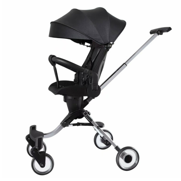 Foldable Baby Stroller Luxury Umbrella Pushchair Baby Trolley Lightweight Baby Pram For Travel Parent Facing Baby Carriage