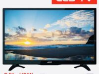 New Ace 24 Super Slim Full HD LED TV Black LED-802