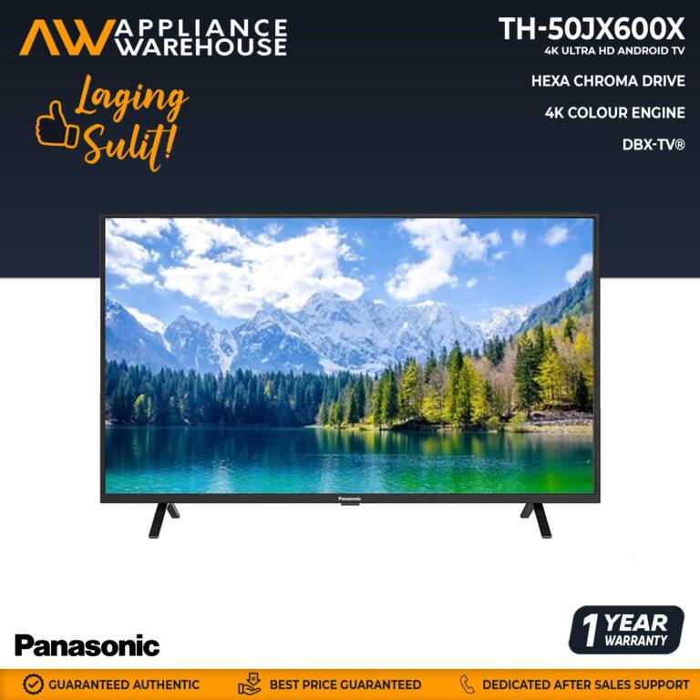 """Panasonic TH-50JX600X 50"""" LED 4K HDR"""