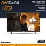 "Panasonic TH-43GX400X  4K Ultra HD Smart TV 43"""