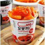 Korea Yopokki Sweet Spicy Topokki Rice Cake Cup 140g