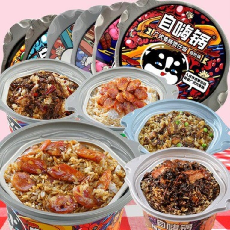 EGOS Imported Food Zihaiguo Self Heating Rice Meal  Instant Clay Rice Pot Instant Food and Snack