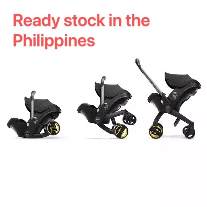 Ready stock Infant Car Seat & Latch Base – Car Seat to Stroller Donna stroller 4-in 1 stroller without the car seat
