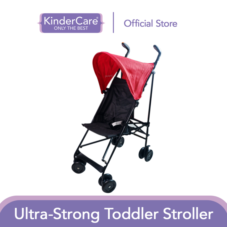 KinderCare Ultra-strong Toddler Stroller (Red)   Suitable for Babies 6Months and Above