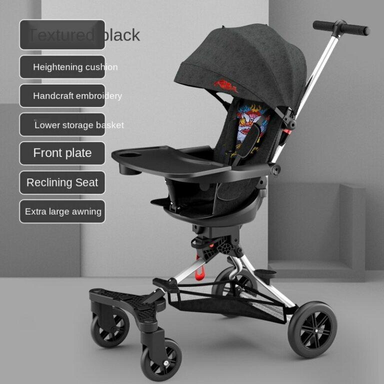 Children's slip baby artifact baby umbrella stroller 1-4 years old lightweight folding body two-way infant stroller