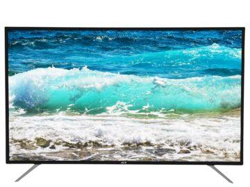Ace 55 Slim 4K Ultra HD TV Black LED-805 DN4
