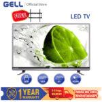 (FREE BRACKET)GELL TV 42 INCH  LED TV Flat-screen Frameless Ultra-slim Television HDMI AV  USB Multi-ports ace 42 TV (Not Smart TV )