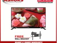 "Sharp 32 inch 2T-C32CB1M  Led Tv / 32"" WXGA BASIC TV (2 Years Warranty) / Sharp 32 Basic TV / Sharp TV with wall bracket"