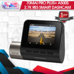 70mai Pro Plus+ Dashcam A500S 1944P 2.7K Resolution Built-In GPS Global Version
