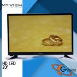 My View 20  HD LED TV 20U10X with FREE WALL BRACKET