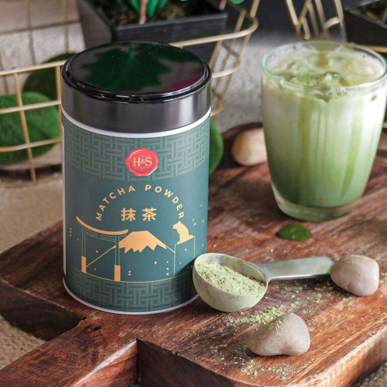 Henry and Sons Matcha Tea Ready-to-Mix Powder (200g)