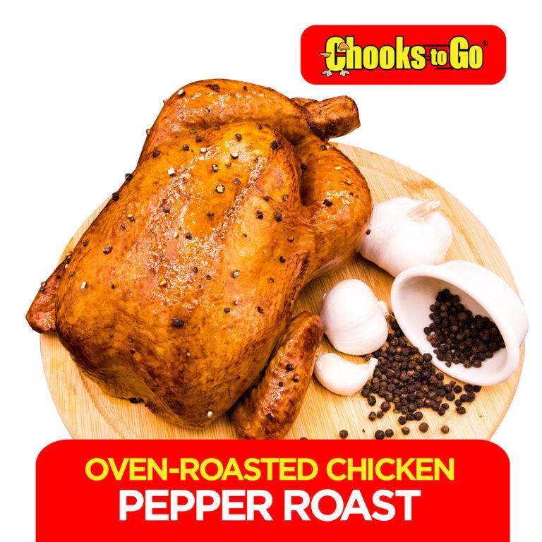 Chooks to Go Oven Roasted Chicken Pepper Roast