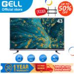 (TV flat screen on sale)GELL 43 inch  LED TV  Full HD ultra-slim GELL43AB-(free bracket)