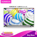 Konicka 43A LE-43P9 Smart Borderless LED TV