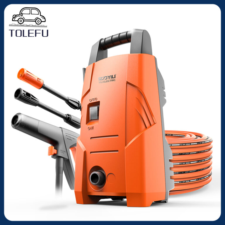 High Pressure Car Wash Machine 1200W High Pressure Handheld Auto Clean Spray Powerful Car Washer Gun Wash Machine Garden Water Jet Kits