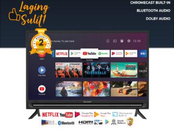 "Sharp 2T-C32BG1X 32"" 2K ANDROID TV (2 Years Warranty)"