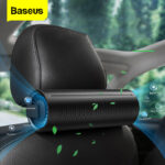 Baseus New Car Air Purifier Ionizer Negative Ion Car Air Freshener Activated Carbon Formaldehyde Car Air Cleaner Accessiories For Home Office