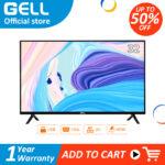GELL 32 inch led sale tv flat screen tv  Frameless Ultra-slim Multi-ports HDMI AV  USB
