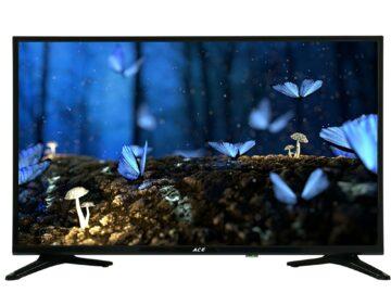 Ace 32 Slim LED TV Black LED-808 DN4