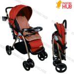 Justin C270A Stroller Foldable Stroller Push Chair Baby Trolley Baby Pram
