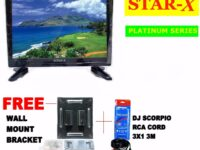 STAR-X 27-Inch LED TV PLATINUM SERIES energy saving AC/DC Operated with Full HD 1080p